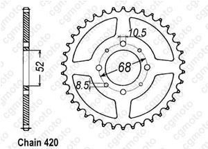 Couronne Sp 370 77-80