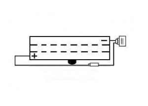 Batterie 6N2A-2C