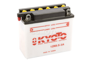 Batterie 12N5.5-3A