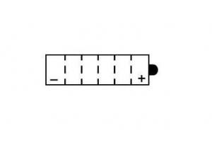 Batterie 12N5.5-3B