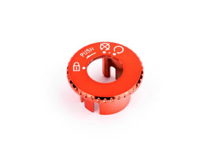 Capuchon de Contacteur à Clé Rouge Adaptable Booster