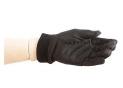 Sous-gants En Soie Noire