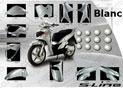 Kit Carrosserie SH125150 Blanc