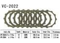 Kit Disques d'Embrayage Garnis Yzf 1000 R1 1999/2003