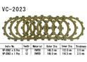 Kit Disques d'Embrayage Garnis Fzs 1000 Fazer 2001/2003